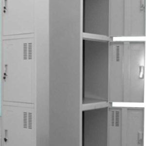 STEEL LOCKER THREE DOOR