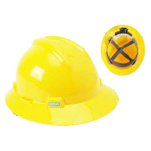SAFETY HELMET WITH PINLOCK SUSPENSION RING TYPE
