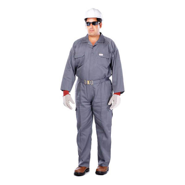 Coverall Grey color