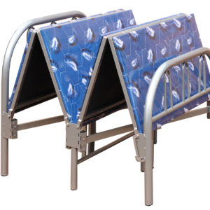 Foldable bed single