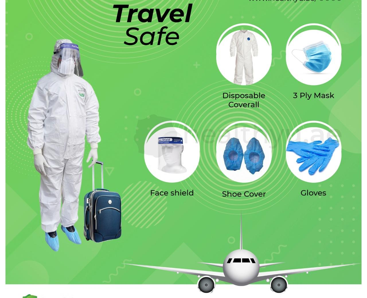 PPE Travel Kit Supplier in UAE - Ability Trading  +971 55 1711384